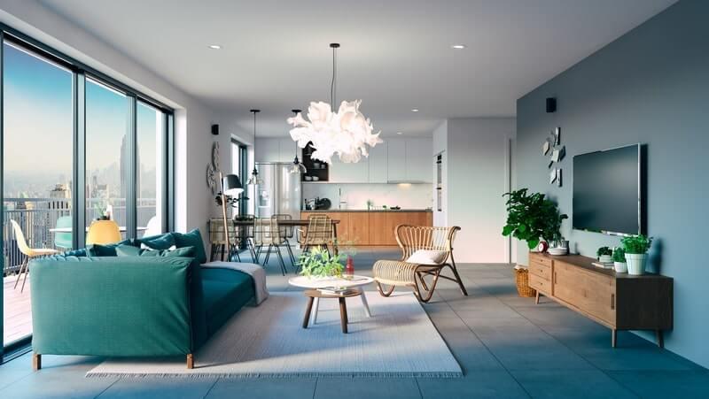 Penthousewohnung - Vorteile und Nachteile oben zu wohnen